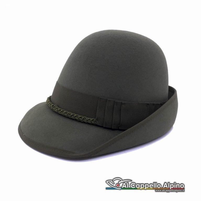 Sh0002 Cappello Alpino Da Ufficiale E Sottufficiale In Feltro
