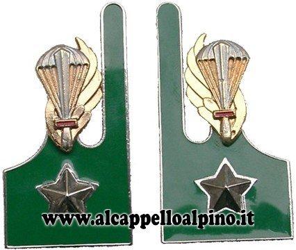 Mostrine Paracadutisti Alpini (vecchio tipo)