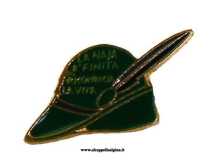 """Cappello Alpino """"la naja è finita"""""""