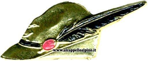 Cappello Alpino Dorato
