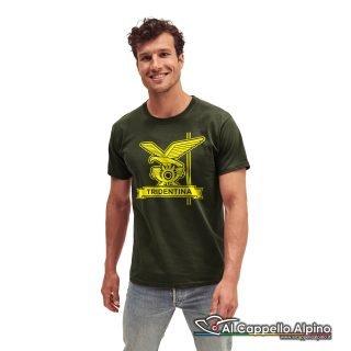 Amt0011 T Shirt Brigata Tridentina Verde Oliva
