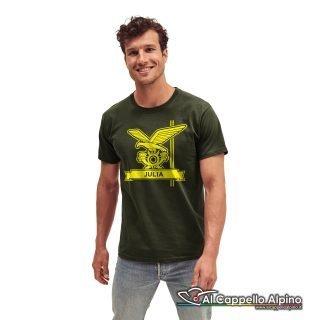 Amt0012 T Shirt Brigata Julia Verde Oliva