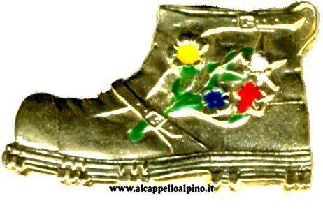 Scarpone Alpino (fiori)