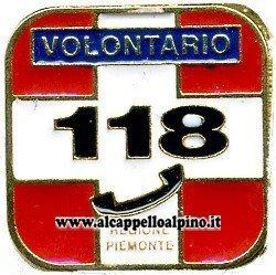 Spilletta 118 Piemonte volontario