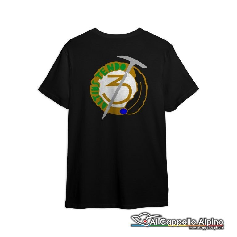 Amt0029 T Shirt 3 Reggimento Alpini Retro