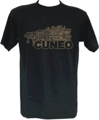 T-Shirt Cuneo cartina-0