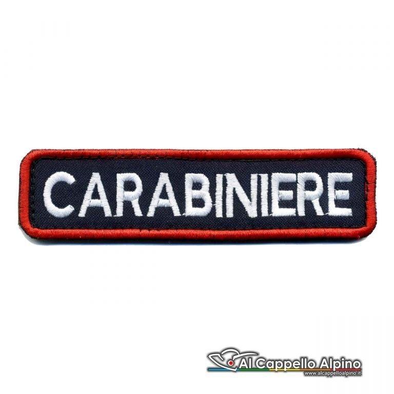 Topno0200 Patch Carabinieri Personalizzato