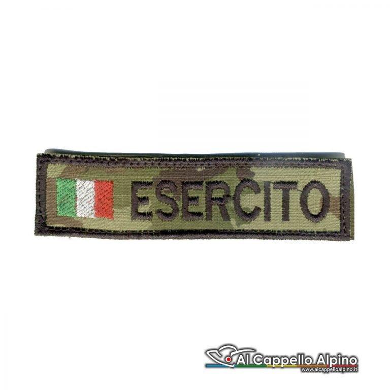 Topno0011 Patch Nome Esercito Italiano Personalizzato Vegetato
