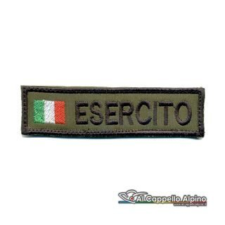 OD - Patch nome con tricolore