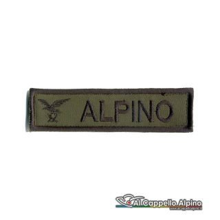 Topno0021 Patch Nome Fregio Alpino Od