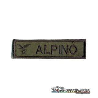 Topno0021 Patch Nome Fregio Alpino Od