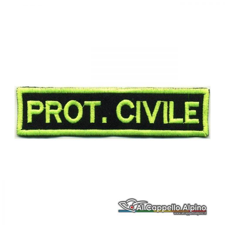 Topno0110 Protezione Civile Fondo Blu Navy