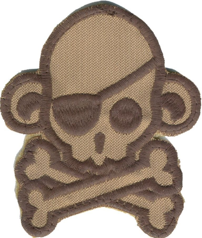 Skull monkey pirate grande