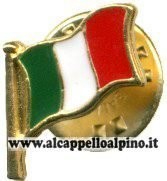 pins bandiera italiana piccola