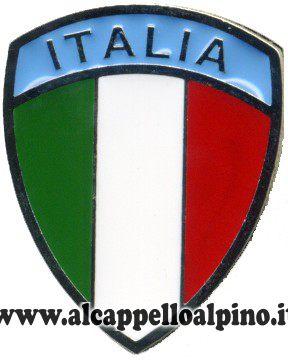 spilla italia scudo