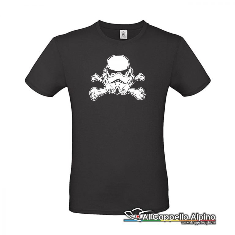Acts0156 T Shirt Jolly Troopers Nero