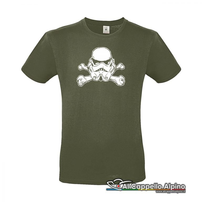 Acts0156 T Shirt Jolly Troopers Verde Oliva