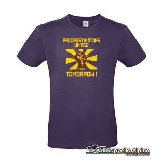 Acts0180 T Shirt Procrastinators United Tomorrow Viola