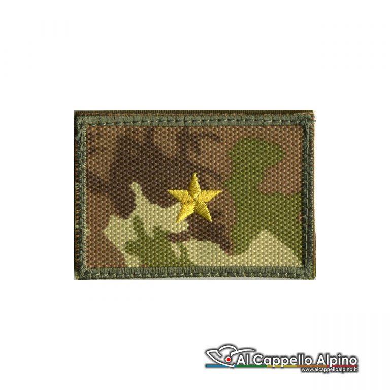 Grei0018 Grado Sottotenente Esercito Italiano Scratch Vegetato Alta Visibilita