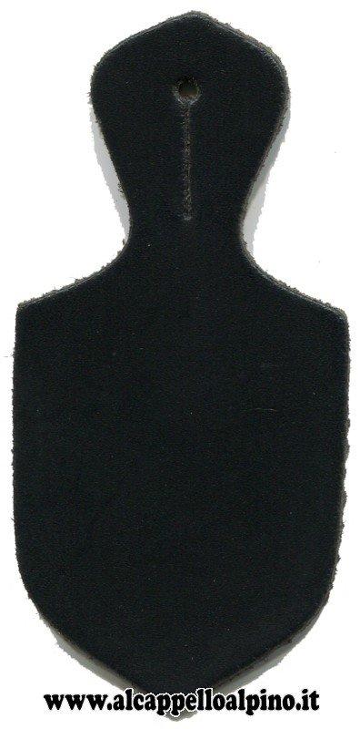 Goccia portadistintivo nera grande
