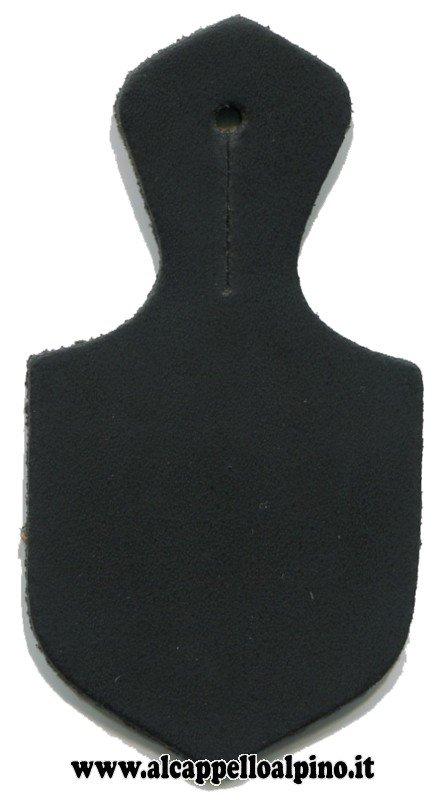 Goccia portadistintivo nera piccola