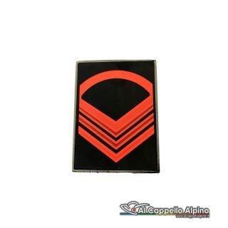 Grado Caporal Maggiore Capo Esercito Italiano Metallico Alta Visibilita