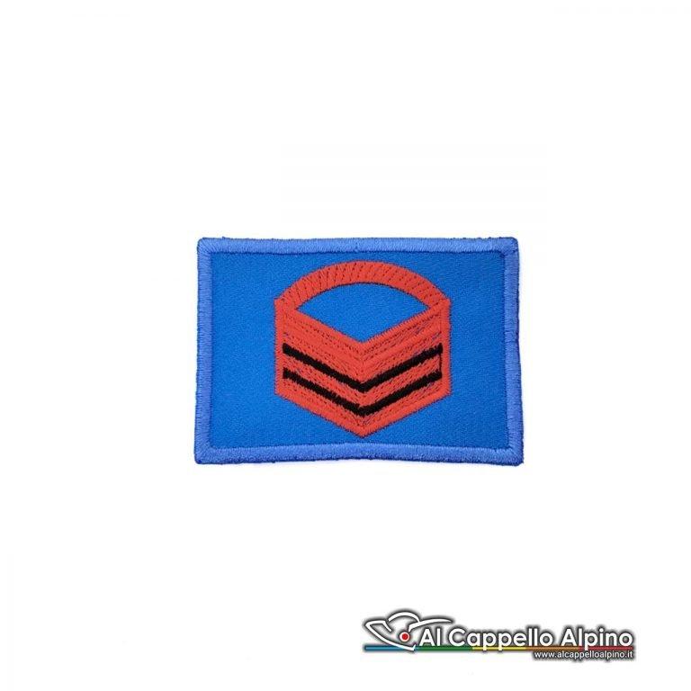 Grado Caporal Maggiore Capo Esercito Italiano Scratch Blu Alta Visibilita