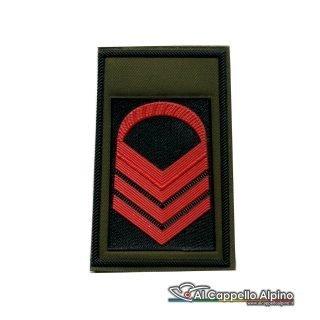 Grado Caporal Maggiore Capo Esercito Italiano Tubolare Coppia Pvc Od Alta Visibilita