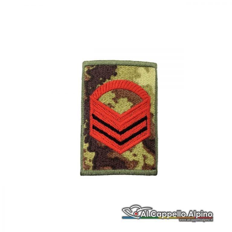 Grado Caporal Maggiore Capo Esercito Italiano Tubolare Vegetato Alta Visibilita