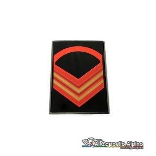 Grado Caporal Maggiore Capo Scelto Esercito Italiano Metallico Alta Visibilita