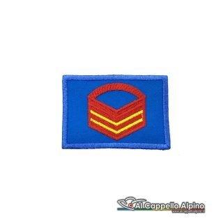 Grado Caporal Maggiore Capo Scelto Esercito Italiano Scratch Blu Alta Visibilita