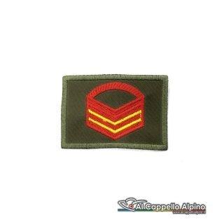 Grado Caporal Maggiore Capo Scelto Esercito Italiano Scratch Od Alta Visibilita
