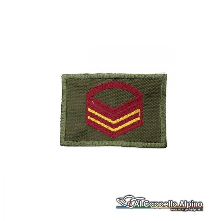 Grado Caporal Maggiore Capo Scelto Esercito Italiano Scratch Od Bassa Visibilita