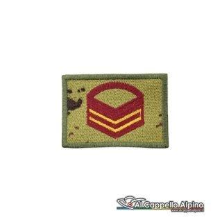Grado Caporal Maggiore Capo Scelto Esercito Italiano Scratch Vegetato Bassa Visibilita