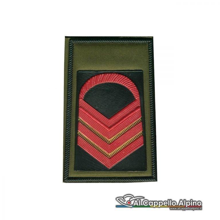 Grado Caporal Maggiore Capo Scelto Esercito Italiano Tubolare Coppia Pvc Od Alta Visibilita