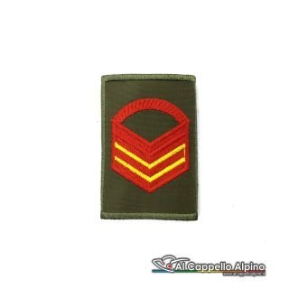 Grado Caporal Maggiore Capo Scelto Esercito Italiano Tubolare Od Alta Visibilita