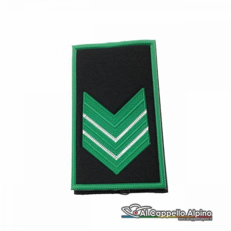 Lop0001 Gradi Tubolari Guardia Giurata Appuntato Scelto