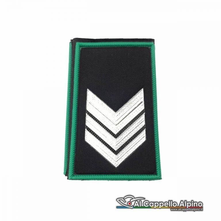 Lop0001 Gradi Tubolari Guardia Giurata Maresciallo Brigadiere