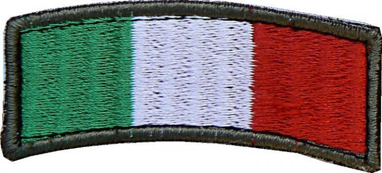 Toppa Italia ad arco bordo OD