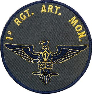 Toppa 1° Rgt Art Mon