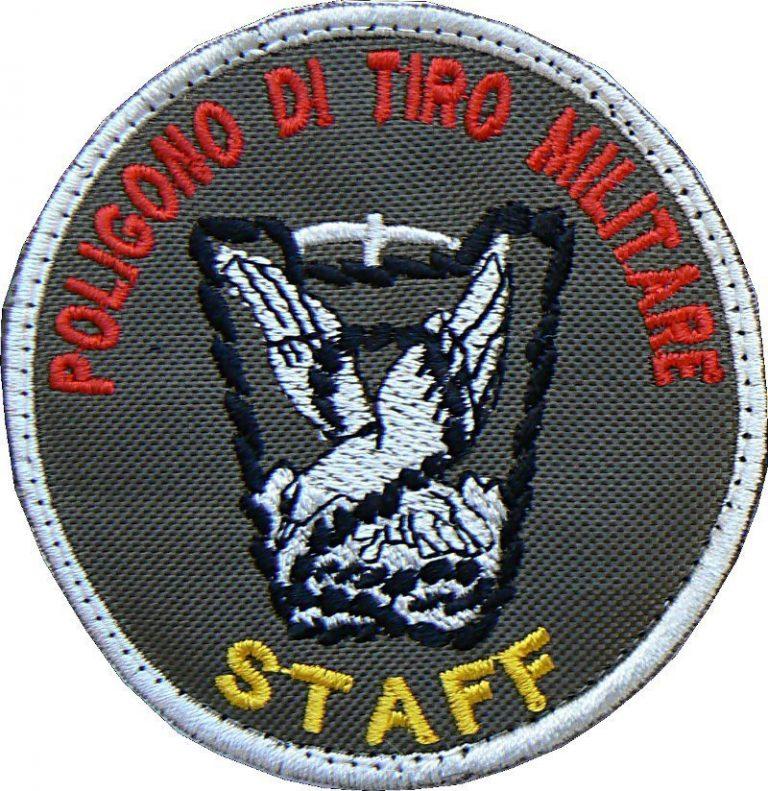 Toppa Staff Poligono di tiro militare