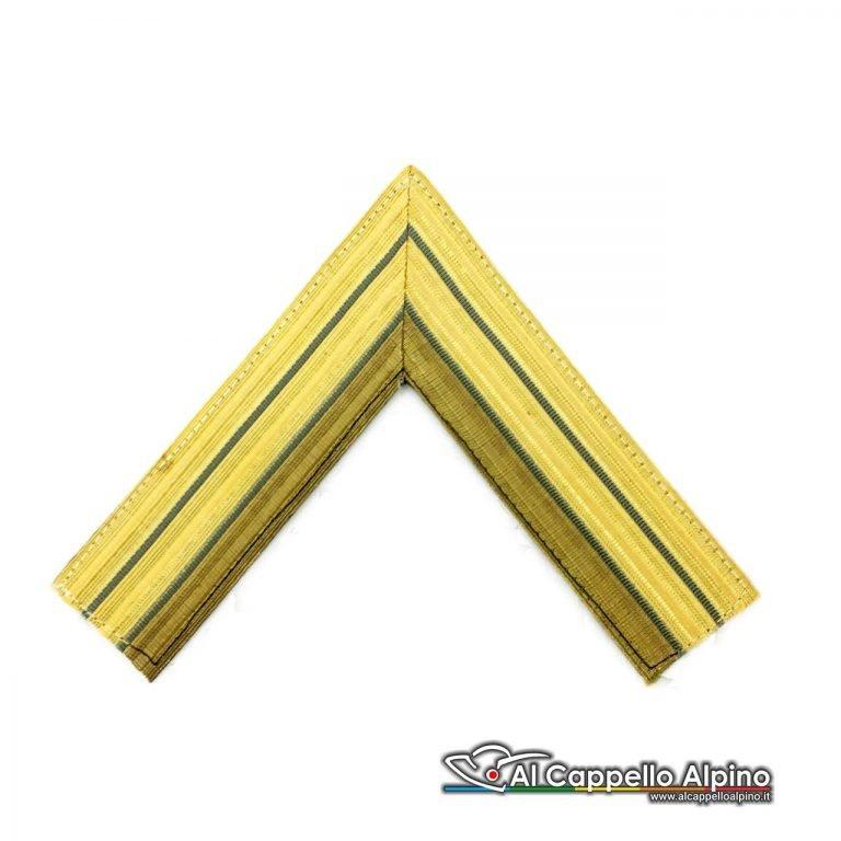 Gres0122 Gallone Tenente Comandante Di Reparto Cappello Alpino