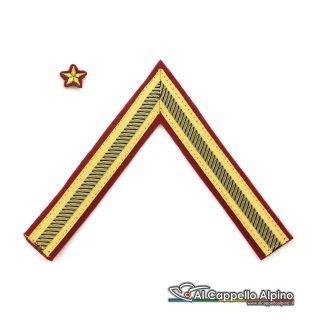 Gres0123 Gallone Primo Maresciallo Luogotenente Cappello Alpino