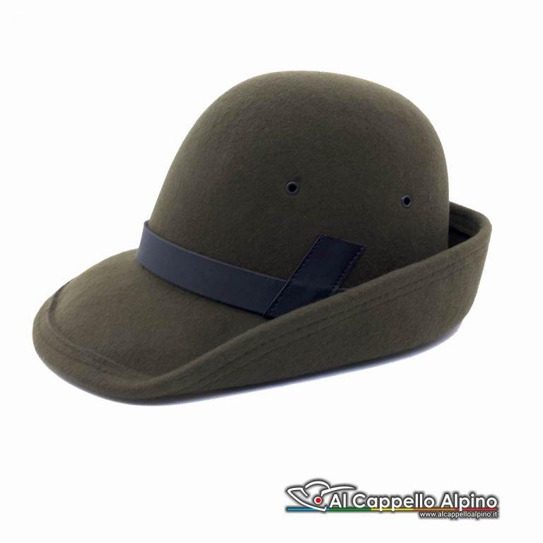 Sh0001 Cappello Alpino Da Truppa In Lana