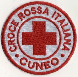 Toppa Croce Rossa - Cuneo