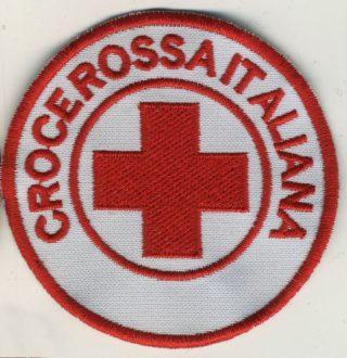 Toppa Croce Rossa