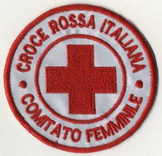 Toppa Croce Rossa - Comitato Femminile