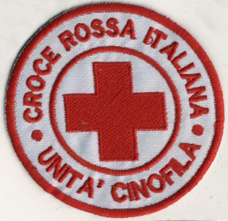 Toppa Croce Rossa - Unità Cinofila