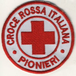 Toppa Croce Rossa - Pionieri