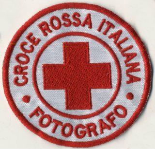 Toppa Croce Rossa - Fotografo